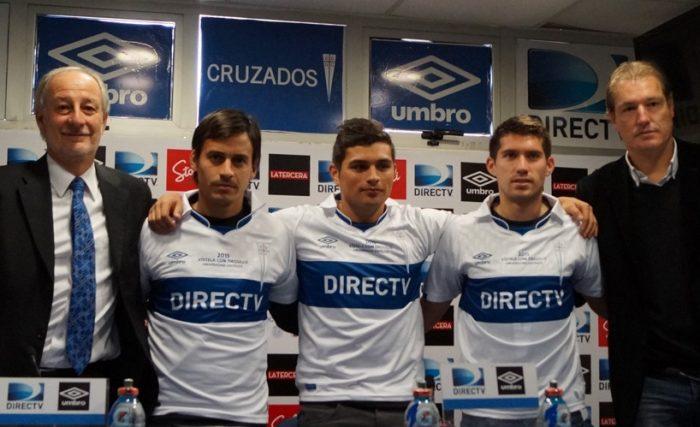 Universidad Católica se refuerza en el sur con César Fuentes, Carlos Espinosa y Juan Carlos Espinoza
