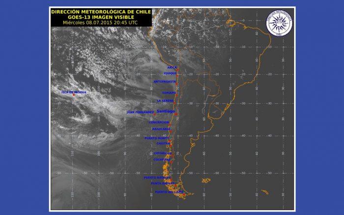 Meteorología advierte que el domingo volverá a llover en la Región de Atacama