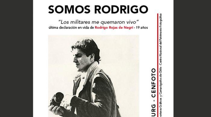 Mural colectivo en homenaje a Rodrigo Rojas de Negri, Gam, hoy desde las 11:00 horas