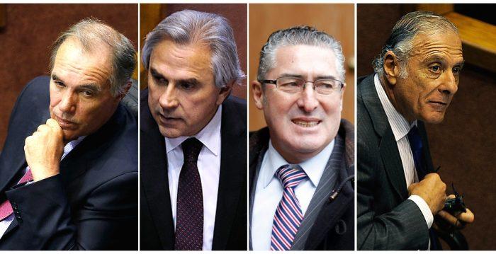 Orpis, Moreira, Pizarro y Tuma aplauden cuenta pública de presidentes de ambas cámaras en el Congreso