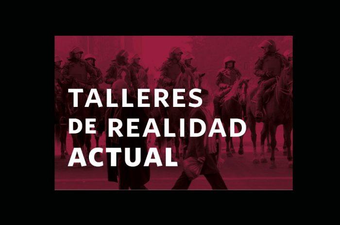 Vecinos de Población La Victoria y académicos participan de talleres sobre la realidad actual