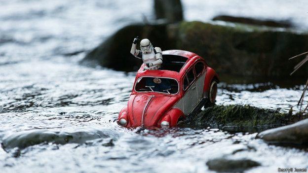 """""""Un camino sin obstáculos tal vez conduzca a ninguna parte"""", escribió el autor sobre esta foto."""