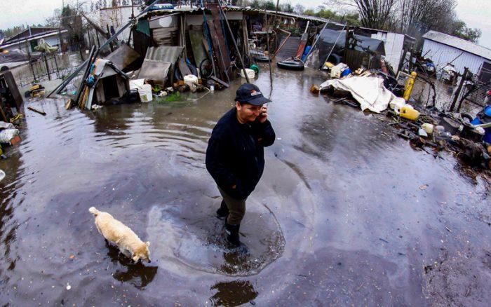[Fotos - Especial lluvias] El desastre que dejó el temporal que afectó a casi todo Chile
