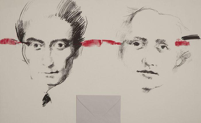 Kafka y Milena la carta