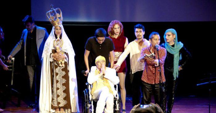 Pedro Lemebel en homenaje que se realizó en el GAM