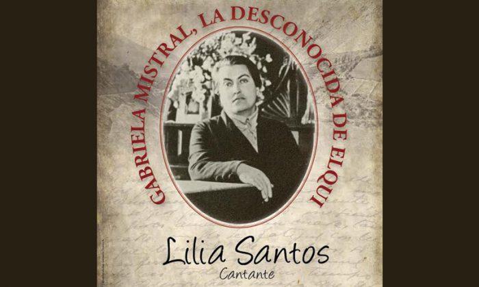 """Presentación gratuita de obra musical """"Gabriela Mistral, la desconocida del Elqui"""" en Biblioteca Nacional, 6 de agosto"""