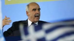 Vangelis Meimarakis felicitó a Tsipras y le urgió a formar el gobierno que necesita Grecia.