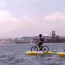 Cicletada Marina por la Recuperación de la Bahía de Quintero