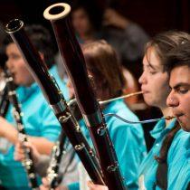 Primer encuentro de bandas instrumentales y ensambles de viento Foji 2015 en Centro Cultural Estación Mapocho, 12 de septiembre