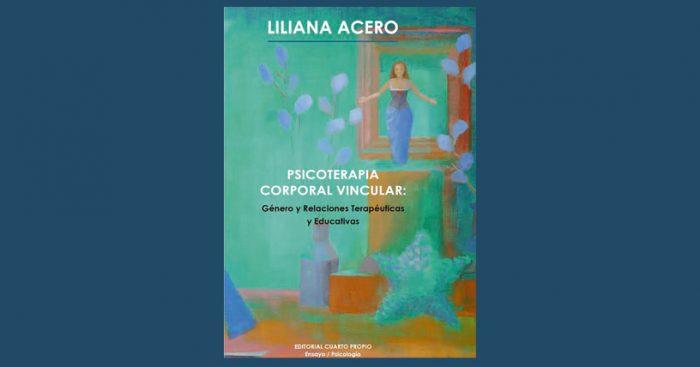 """Lanzamiento del libro """"Psicoterapia corporal vincular» en Café Literario Parque Bustamante, 7 de septiembre"""