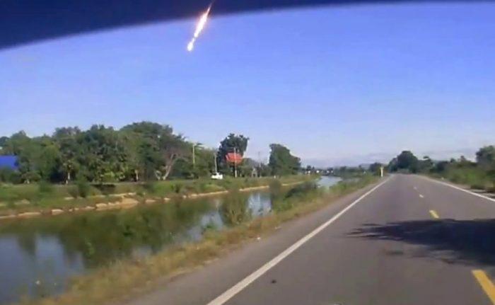 Show astronómico: se presenta lluvia de meteoritos en la zona central del país