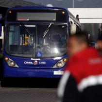 Trabajadores de Subus inician paro ante escasas medidas para enfrentar el coronavirus