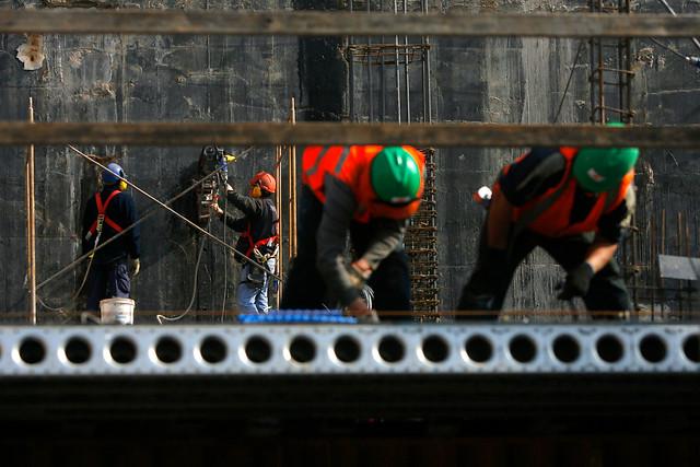 Actividad de la construcción cayó 4,1% anual en diciembre, su peor registro desde 2009