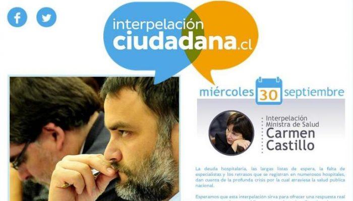 Diputados UDI lanzan página web interpelacionciudadana.cl