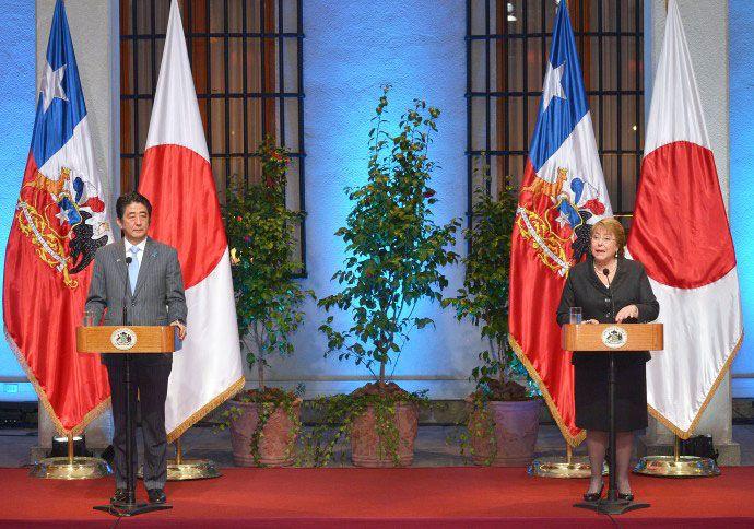 Japón firmará acuerdo de doble tributación con Chile