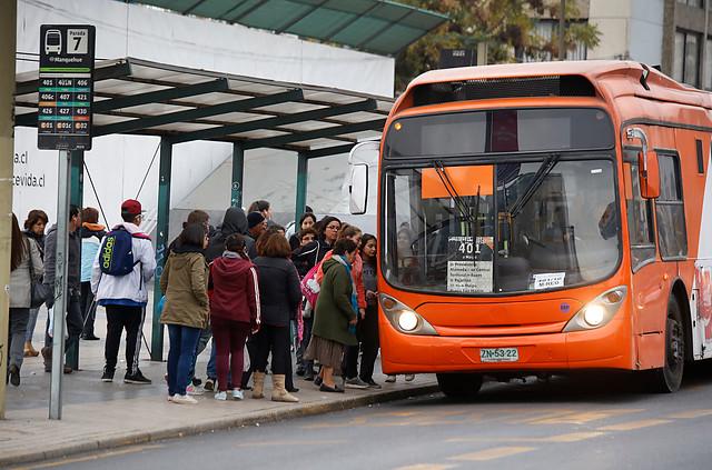 Municipales 2016: transporte público aumenta servicios para el día de las elecciones