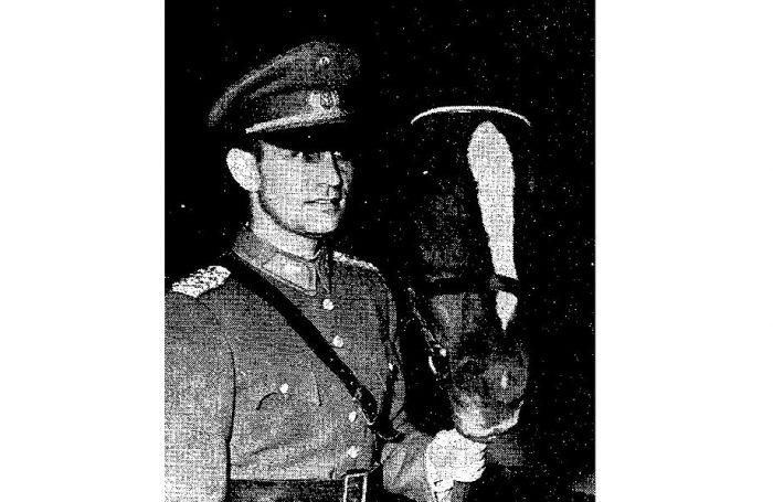 Recuerdo: un equitador recibe el premio más importante entregado a un deportista chileno