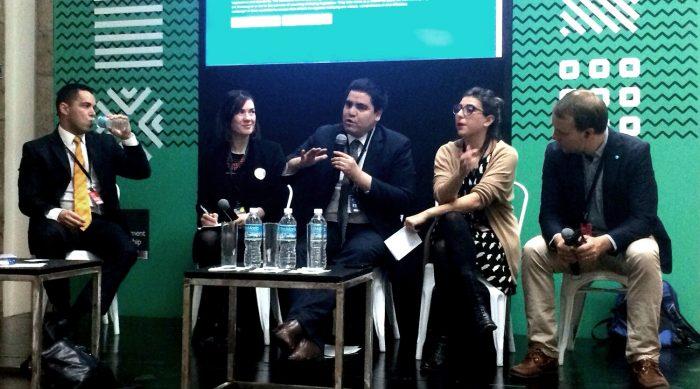 Representantes del Estado chileno exponen en la Cumbre Global de Gobierno Abierto