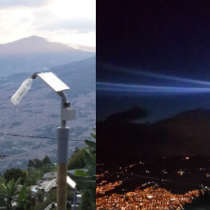 Litro de Luz ilumina por primera vez una comunidad de Renca
