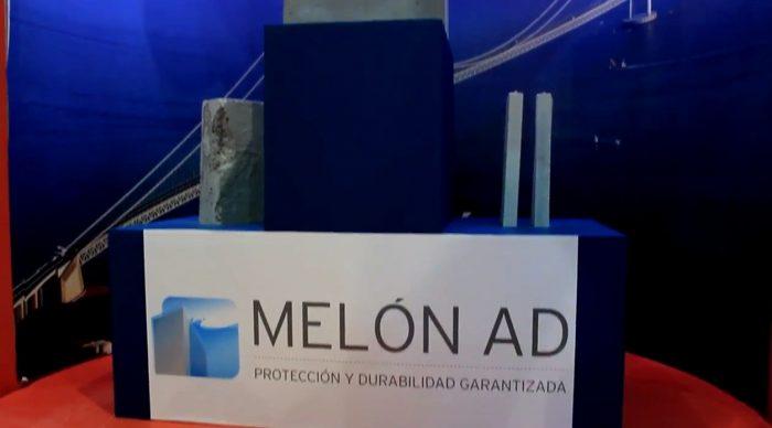 Gerardo Staforelli explica en la Expo 2015 las características del nuevo hormigón Melón AD