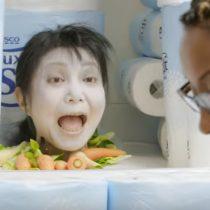 [Video] Supermercado asusta a sus clientes con bromas de Halloween