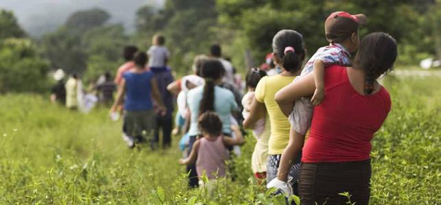 ACNUR advierte de una crisis de refugiados inminente ante la huida de mujeres de Centroamérica y México