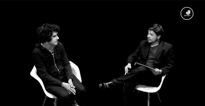 El director Roberto Collío en Mostradoc