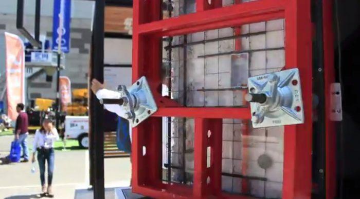 La evolución del termomuro, uno de los productos estrella de Melón en la Expo 2015