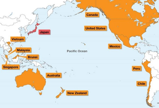 TPP: más que el 40% del PIB global