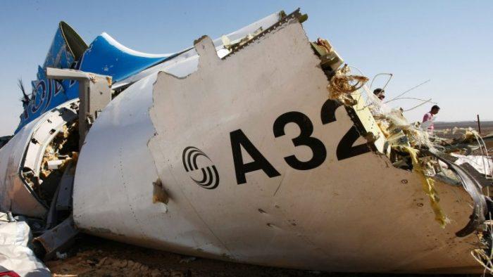 El servicio secreto británico cree que el avión ruso caído en Egipto transportaba una bomba