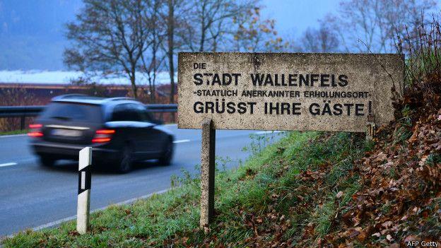 Wallenfels, un pueblo del sur de Alemania, está cerca de la frontera con la República Checa.