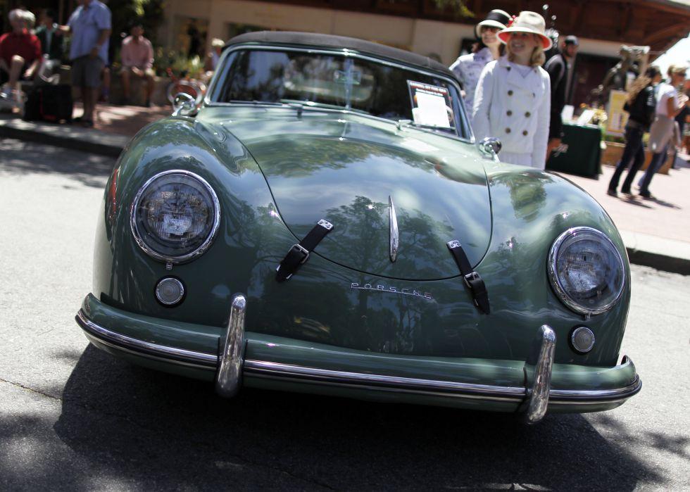 Un Porsche modelo 356 del año 1953.
