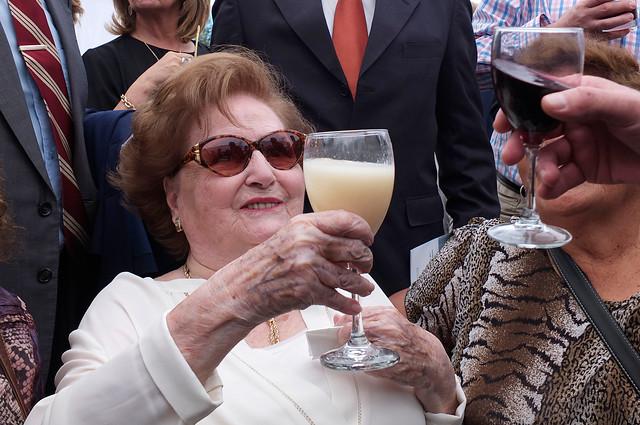 [Fotos] Galería del terror: así celebraron sus adherentes el natalicio número 100 de Pinochet