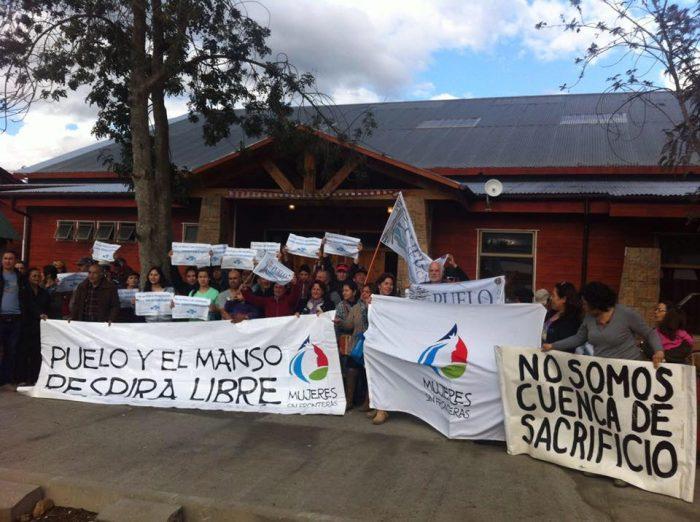 Vecinos por la Defensa de la Cuenca del Río Puelo anuncian jornada de movilización