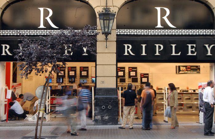 Ripley revierte pérdidas, pero sigue dependiendo del negocio financiero para hacer crecer sus utilidades
