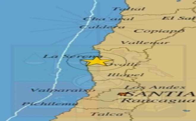 Temblor de 5 grados sacude a la región de Coquimbo