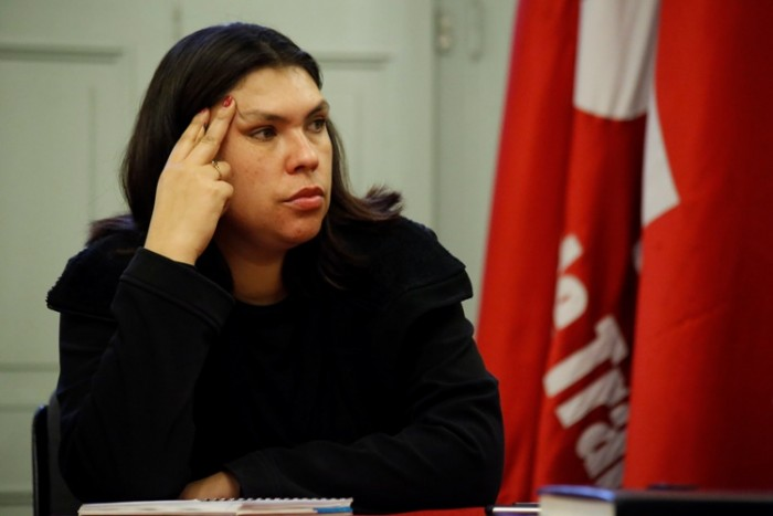 Bárbara Figueroa repostulará a la presidencia de la CUT