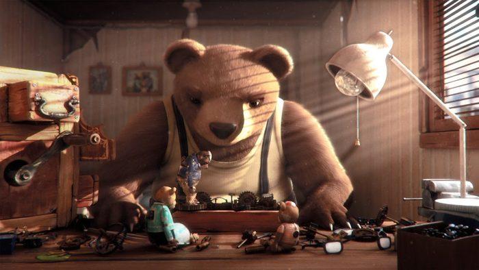 """Corto de animación chileno """"Historia de un oso"""" entre los 10 prenominados al Óscar"""