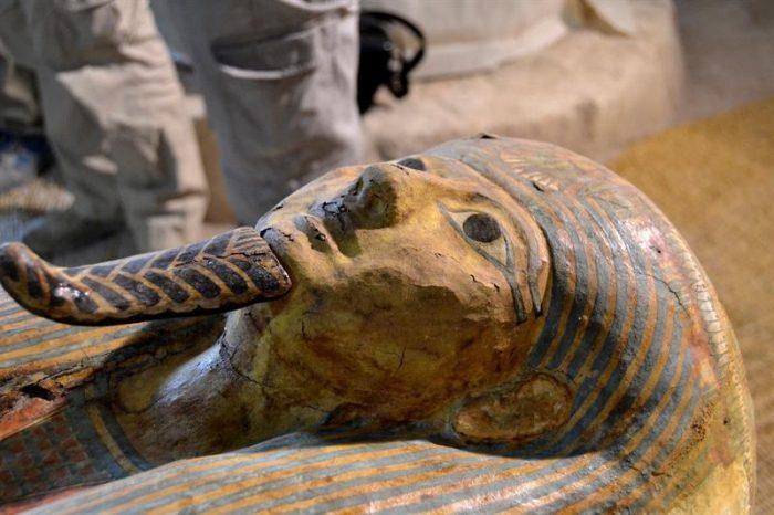 Faraónico desfile en Egipto y un inocente juego de palabras