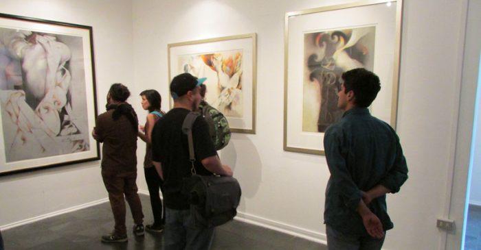 Pinturas inéditas de Mario Toral se exponen en la UMCE hasta el 04 de diciembre