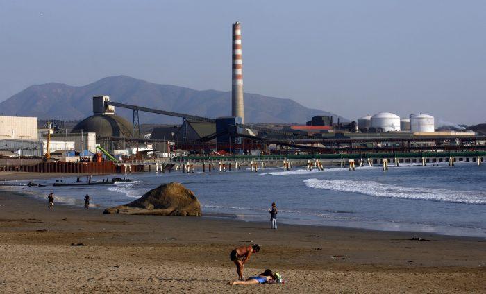 Puchuncaví, zona de sacrificio ambiental, sale al paso de proyecto termoeléctricode Codelco