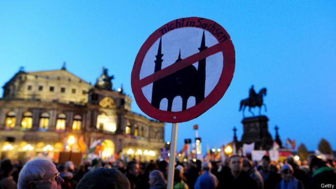 En Dresde se han repetido estas protestas.
