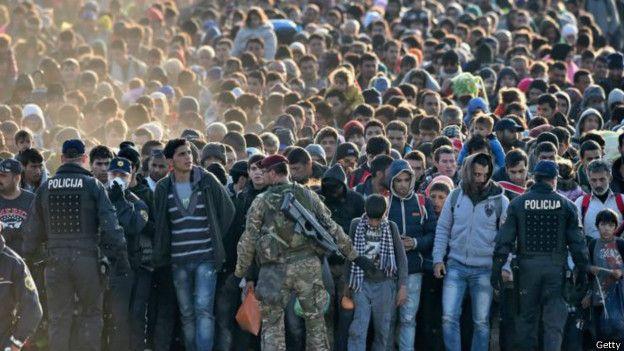 Dresde es una de las ciudades alemanas que trata de absorber la oleada de refugiados y migrantes.