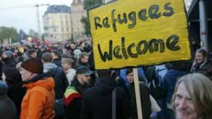 Es más la amabilidad que el rechazo hacia los refugiados, dice Magdi Khalil.
