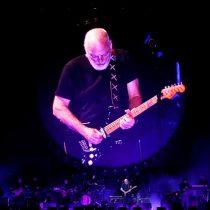 David Gilmour cautivó en el Nacional con los hipnóticos clásicos de Pink Floyd