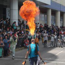 V Fiesta Urbana de las Artes en calles de Puerto Montt, 5 de diciembre
