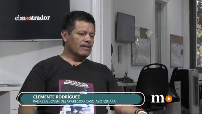 Padre de joven desaparecido en caso Ayotzinapa:
