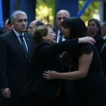 Bachelet entrega condolencias a familia de PDI asesinado por delincuentes