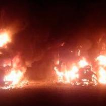 La CAM se adjudica ataque a empresa de camiones en la Araucanía