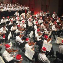 Sin brillar, Orquesta Sinfónica brindó alegría en concierto navideño en Corpartes